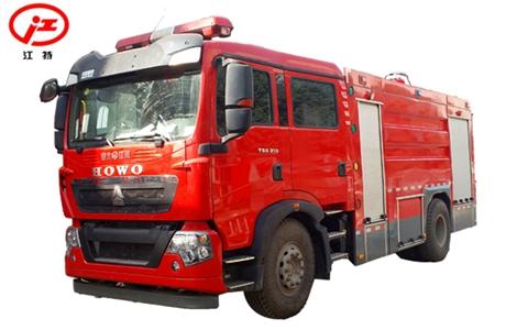 国五重汽T5G 8吨水罐ballbet体育官网