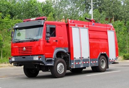 国五重汽四驱6吨水罐ballbet体育官网