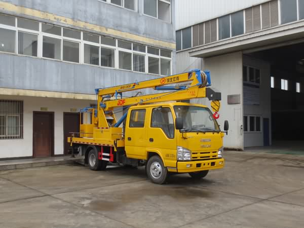 国五庆铃14米高空作业车(100P)