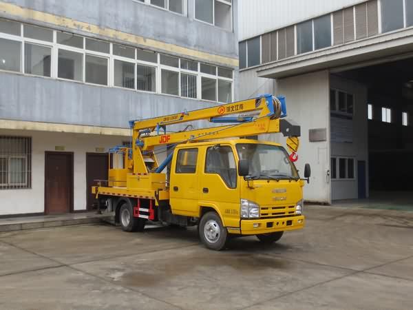 江特牌JDF5050JGK14Q51型高空作业车