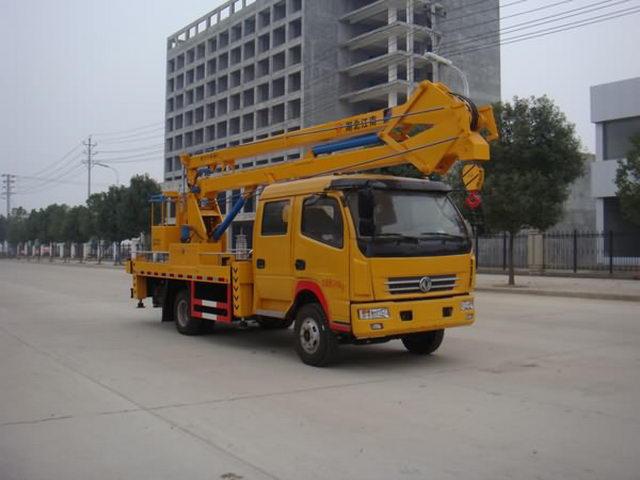 国五东风18米高空作业车(双排)