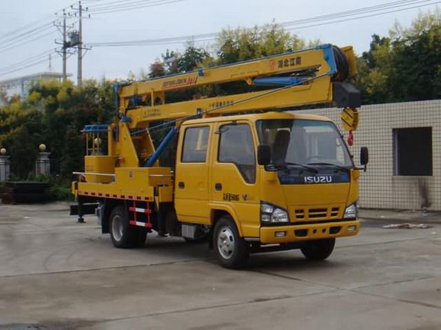 江特牌JDF5060JGKQ4型高空作业车