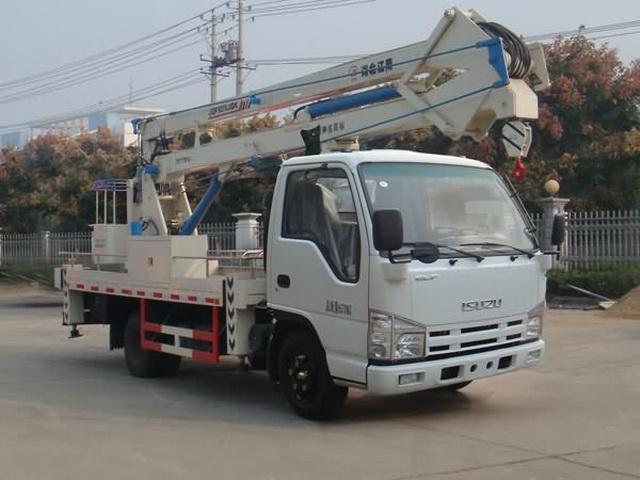 江特牌JDF5070JGKQ41型高空作业车