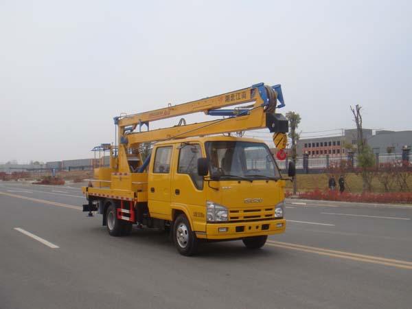 江特牌JDF5060JGK16Q51型高空作业车