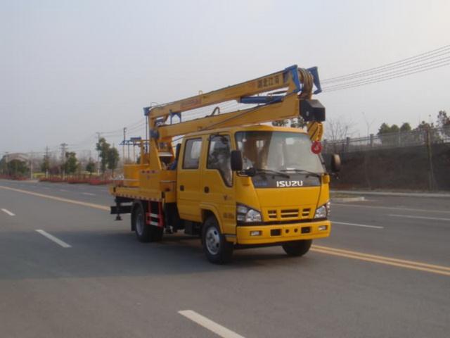 江特牌JDF5060JGK16Q5型高空作业车