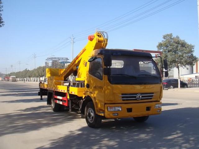 江特牌JDF5080JGK20L5型高空作业车