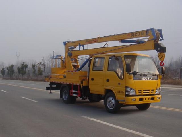 江特牌JDF5050JGK14Q5型高空作业车
