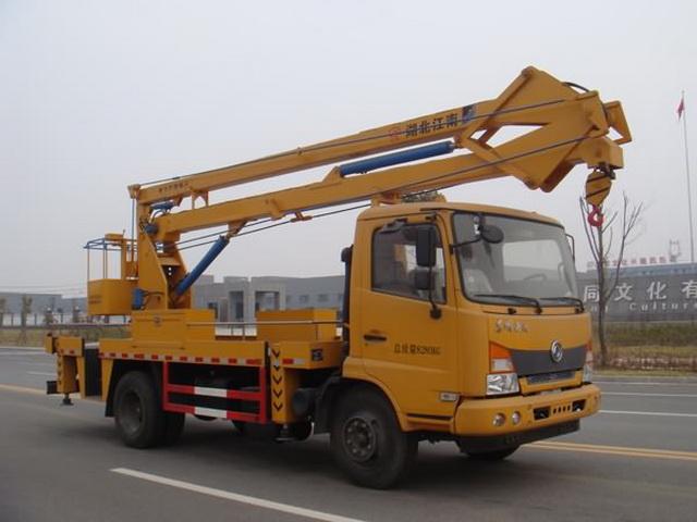 江特牌JDF5080JGK18SZ5型高空作业车