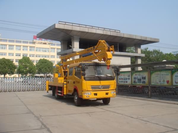 江特牌JDF5080JGK18E5型高空作业车