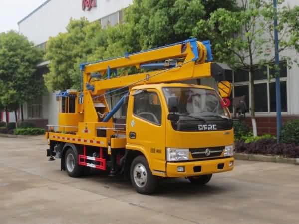 江特牌JDF5041JGK12E5型高空作业车