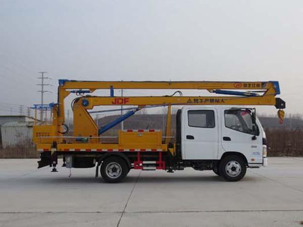 江特牌JDF5060JGK16B5型高空作业车
