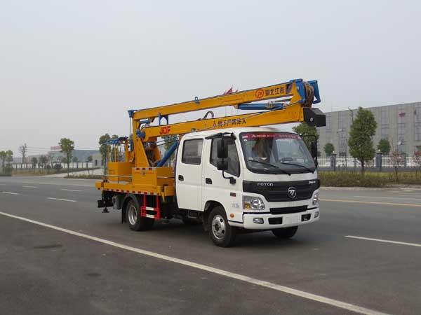 江特牌JDF5060JGK14B5型高空作业车