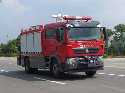 江特牌JDF5130TXFJY120型抢险救援ballbet体育官网
