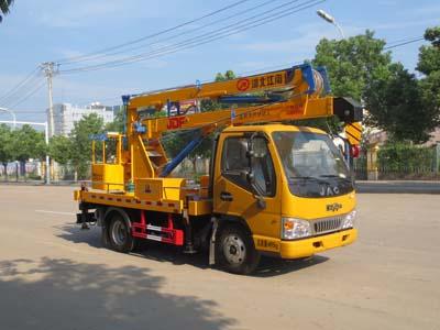 江特牌JDF5040JGK12HFC5型高空作业车