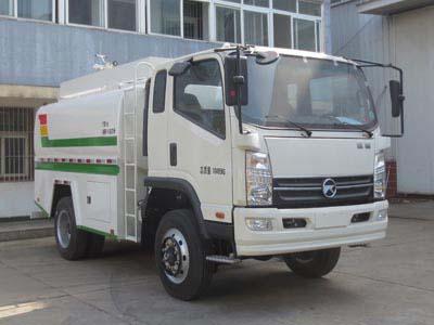 江特牌JDF5100GPSKM5型绿化喷洒车