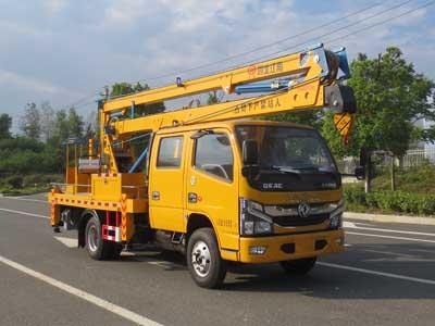 江特牌JDF5060JGK16E6型高空作业车