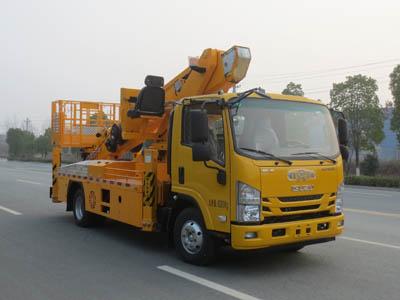 江特牌JDF5080JGK32Q6S型高空作业车